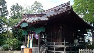 牟禮神明社(牟礼神明社) 拝殿