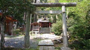 有賀神社 二の鳥居