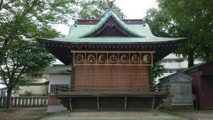 八王子多賀神社 神楽殿