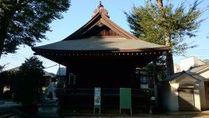西台天祖神社 神楽殿