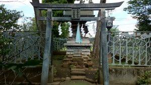 牟禮神明社(牟礼神明社) 三峯神社・榛名神社 鳥居