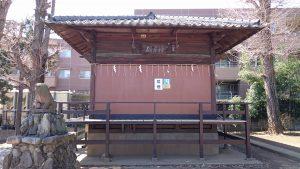 成宗須賀神社 神楽殿(旧拝殿)
