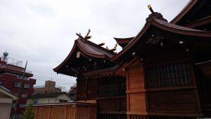 安方神社 本殿