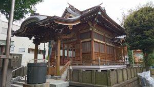 大森諏訪神社 拝殿