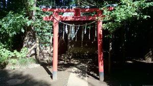 東新町氷川神社 稲荷神社 鳥居