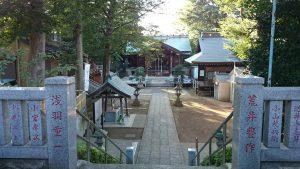 西台天祖神社 境内全景