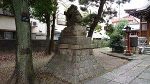 大森諏訪神社 狛犬 阿