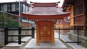 安方神社 安方稲荷神社 社殿