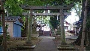 牟禮神明社(牟礼神明社) 鳥居