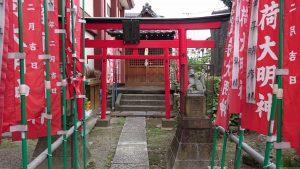 大森諏訪神社 稲荷神社 鳥居