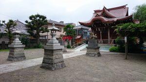 安方神社 参道