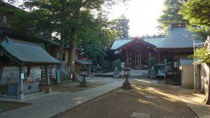 西台天祖神社 境内