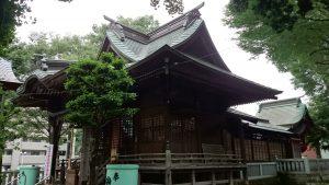 八王子多賀神社 社殿全景