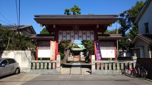 立石熊野神社(五方山熊野神社) 御神門