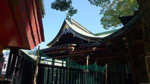 立石熊野神社(五方山熊野神社) 本殿