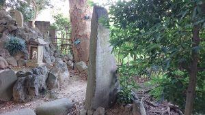 葛西神社 富士社 石碑