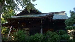 渋江白髭神社(客人大権現) 社殿