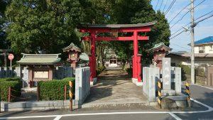 赤塚氷川神社 二の鳥居