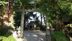 葛西神社 二の鳥居