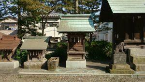 赤塚氷川神社 榛名神社・白山神社