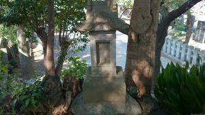赤塚氷川神社 富士塚 小御嶽神社