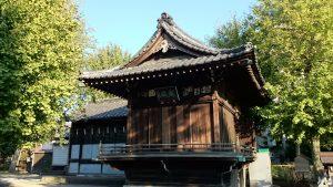 渋江白髭神社(客人大権現) 神楽殿