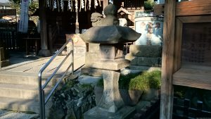 渋江白髭神社(客人大権現) 文政6年常夜灯