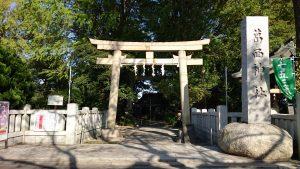 葛西神社 一の鳥居
