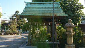渋江白髭神社(客人大権現) 手水舎