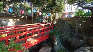葛西神社 神橋