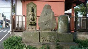 赤塚氷川神社 青面金剛像・庚申塔