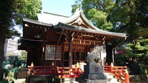 立石熊野神社(五方山熊野神社) 拝殿