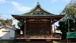 赤塚氷川神社 神楽殿