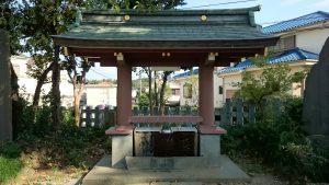 赤塚氷川神社 手水舎