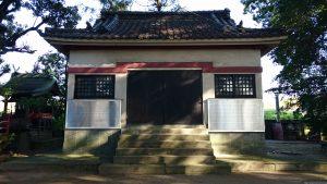 葛西神社 宝物殿(旧社殿)