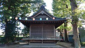 葛西神社 神楽殿