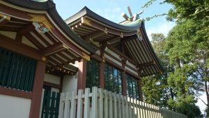 赤塚氷川神社 本殿