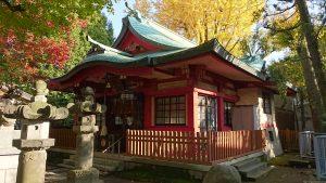 墨田区向島秋葉神社 拝殿