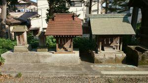 赤塚氷川神社 白山神社・大山阿夫利神社・疱瘡神社・三峯神社