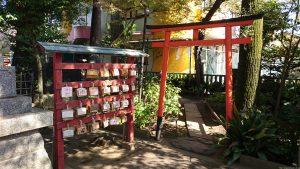 立石熊野神社(五方山熊野神社) 境内社鳥居
