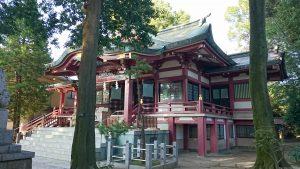 葛西神社 拝殿
