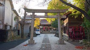 隅田稲荷神社 鳥居