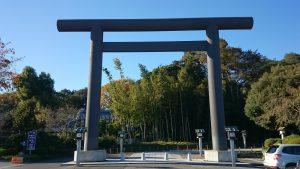 櫻木神社(野田市) 大鳥居