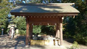 櫻木神社(野田市) 手水舎