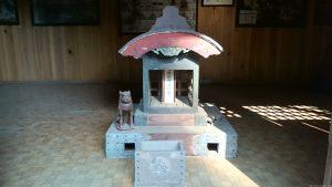 城山熊野神社 絵馬殿内小祠