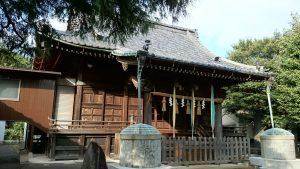 赤塚諏訪神社 拝殿