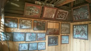 城山熊野神社 絵馬殿内