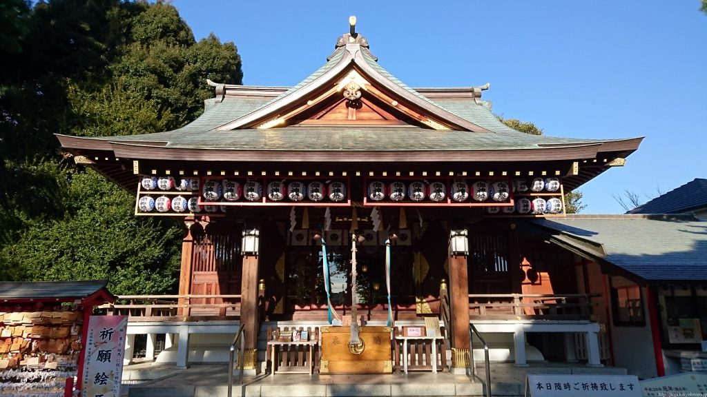 沼袋氷川神社