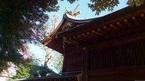 沼袋氷川神社 本殿