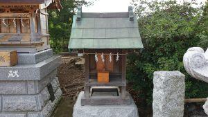 成増菅原神社 境内社(榛名神社?)